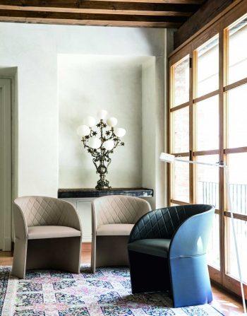 Hudson Upholstered Armchair