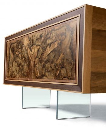 Armonia Sideboard Walnut Root Inlay