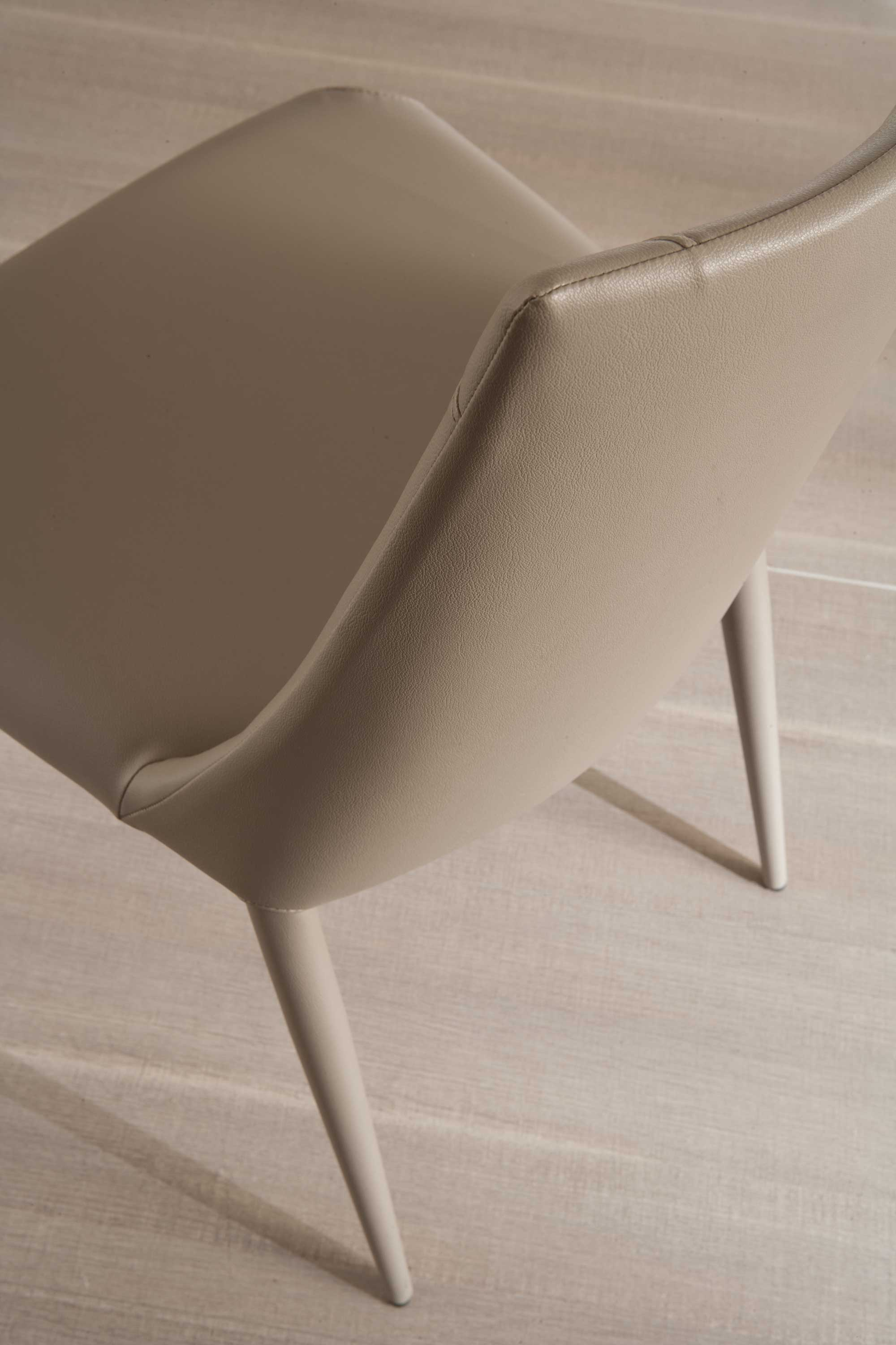 Apollo Dining Chair Eco Leather Upholstery