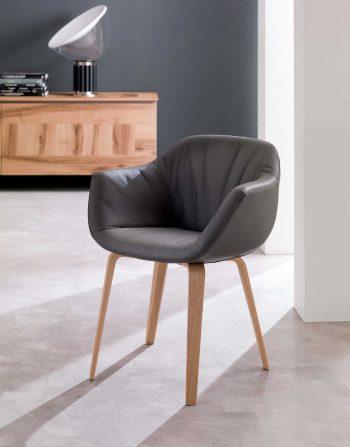 Estro Armchair Genuine Leather